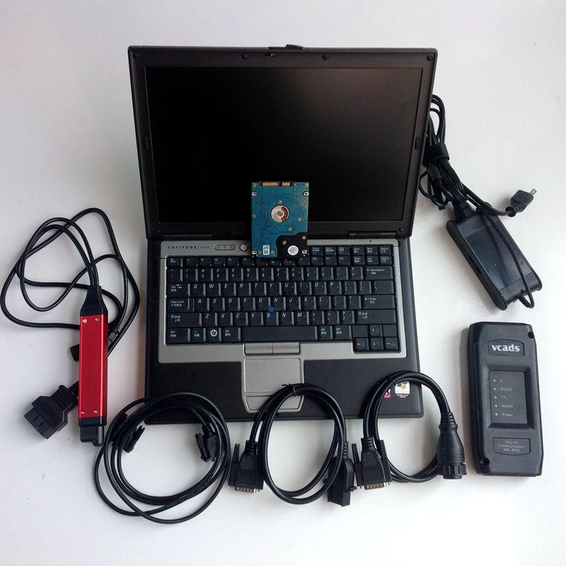 2019 vci3 V2.31 Scanner SDP3 wifi für Scania Heavy Duty und VCADS Pro 2,40 für Volvo Lkw Diagnose 2in1 ein laptop D630