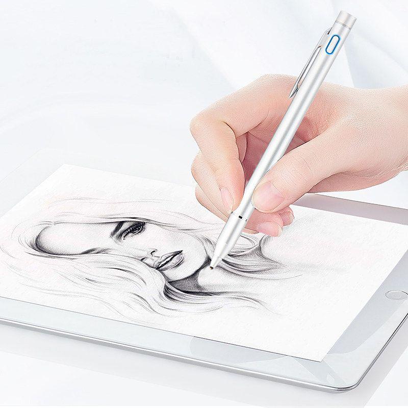 Aktive Stylus Digital Touch Pen mit 1,3mm Ultra Feine Spitze für iPad HUAWEI Tabletten arbeit zu iOS und Android kapazitiven touchscreen