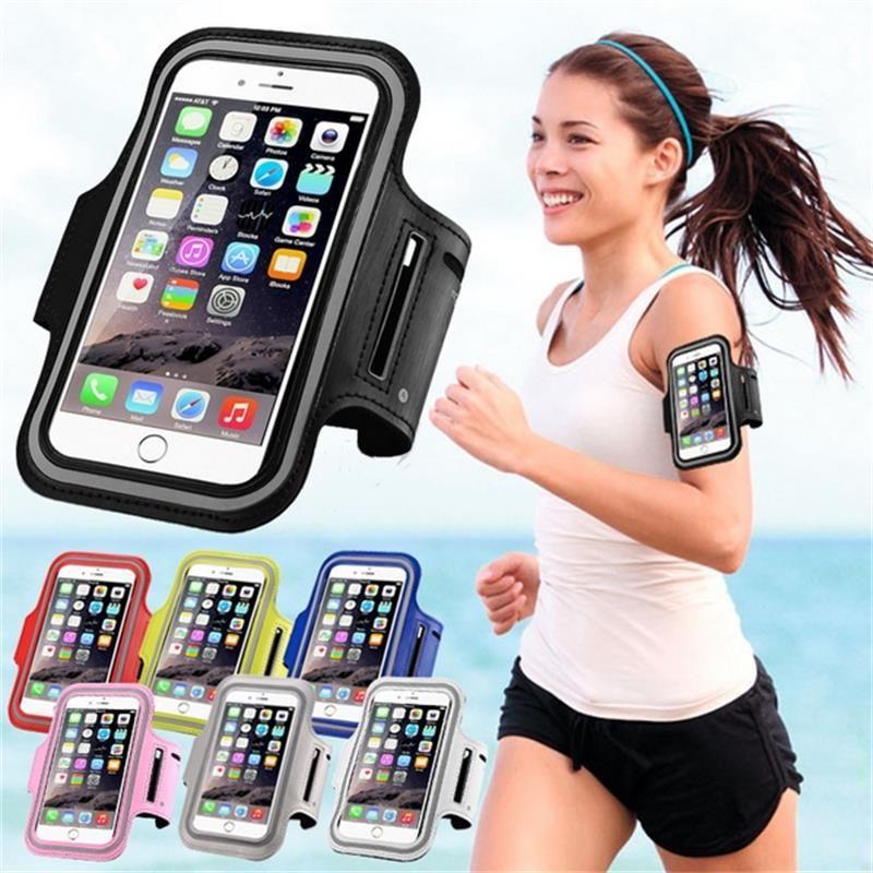 LYBALL Brassard Étanche Sport Téléphone Cas Couverture Titulaire Courir Jogging Pochette Poignet sac Pour iPhone X 8 7 6 Samsung S7 Bord S8 6