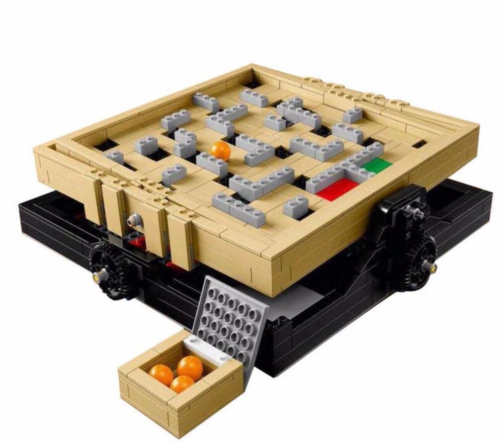 LELE 39000 769Pcs IDEAS Series The Creative Marbles Maze Model Building Blocks Bricks Toys Compatible With 21305 16023