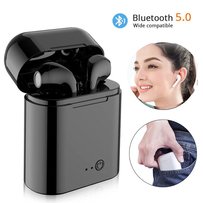 2019 Vip Ture I7S Tws Bluetooth écouteurs casque sans fil Mini écouteurs intra-auriculaires avec boîte de charge pour les vendeurs de livraison directe