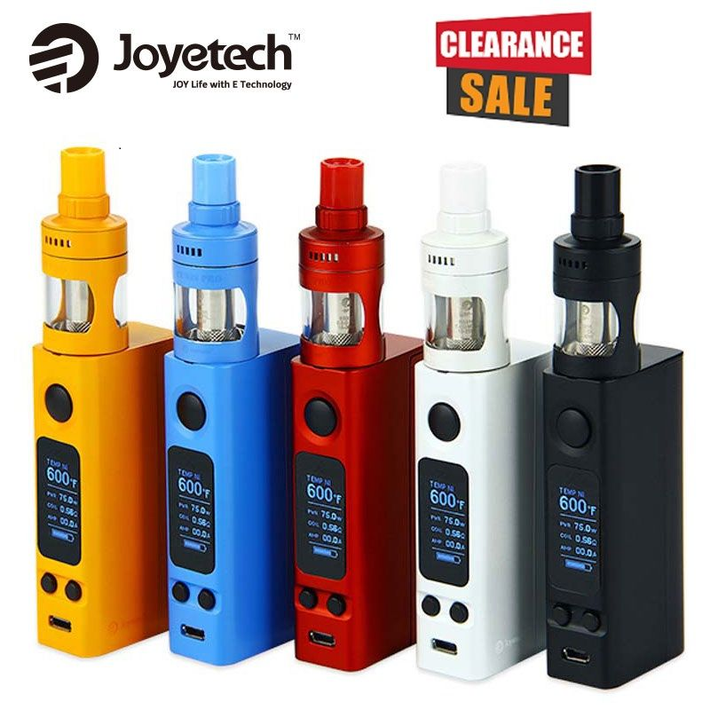 Joyetech eVic VTwo Mini Vape Kit w/ 4ml Cubis Pro Tank vs 75W VTWO MINI MOD NO 18650 Battery E-Cigarette Kit vs EVic Primo Mini