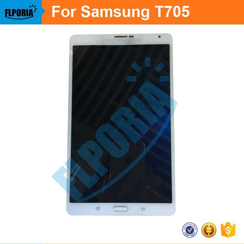 100% hohe qualität 8,4 ''LCD Für Samsung Galaxy Tab S T705 3G LCD Display Panel Touch Sreen Digitizer Glass Assembly Tablet LCD