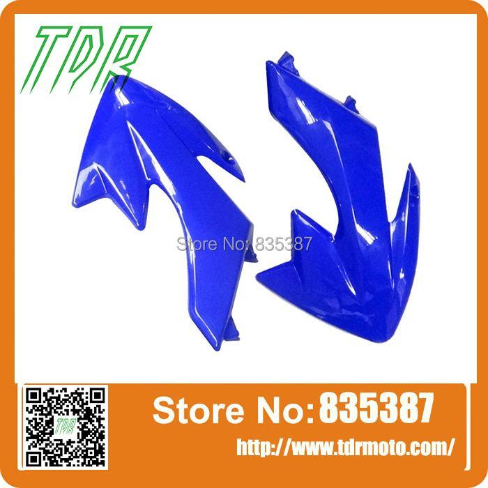 Blue Plastic Tank Shrouds Body Fender for HONDA CRF50 XR XR50 SSR DIRT PIT BIKE