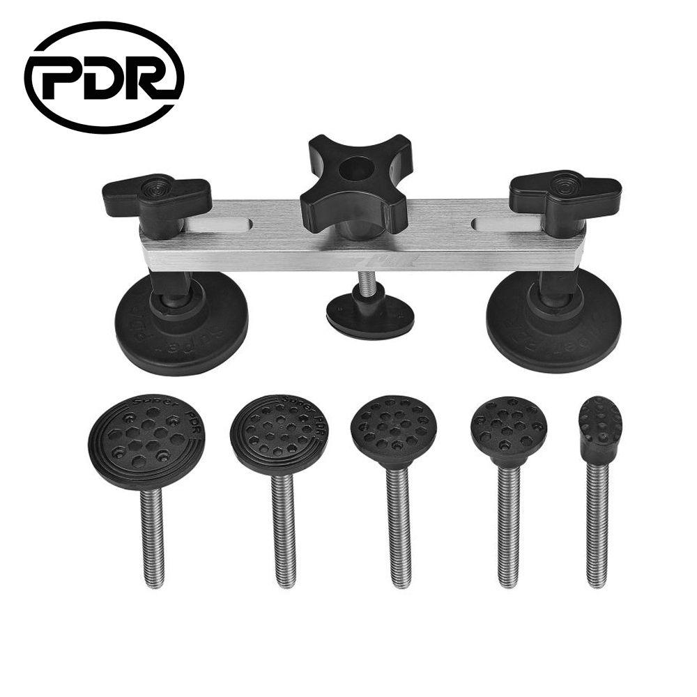 PDR Tools Dent Removal Paintless Dent Repair Tool Dent Puller Pulling Bridge Hail Damage Repair Tools PDR Kit Herramentas