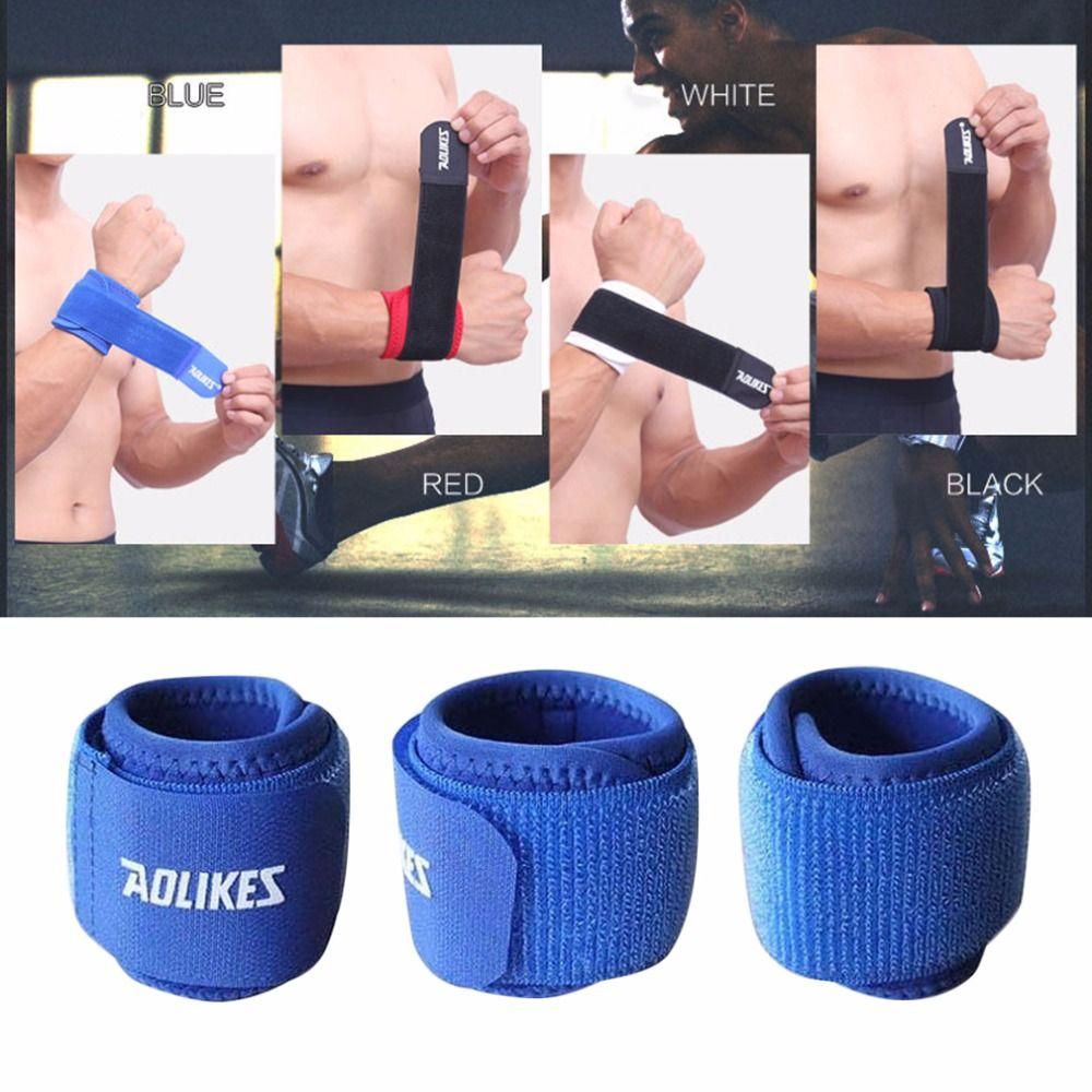 Aolikes Sport Armband Aolikes Handgelenk Daumen Unterstützung Straps Wraps Verband Ausbildung Sicherheit Handschutz Gewichtheben Bands