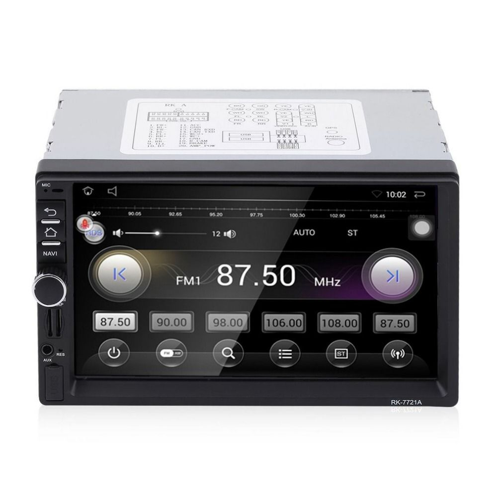 7 HD 1024*600 Car DVD Player touch screen MP3 Stereo Audio Video GPS camera reversing system Bluetooth WIFI Mobile Internet