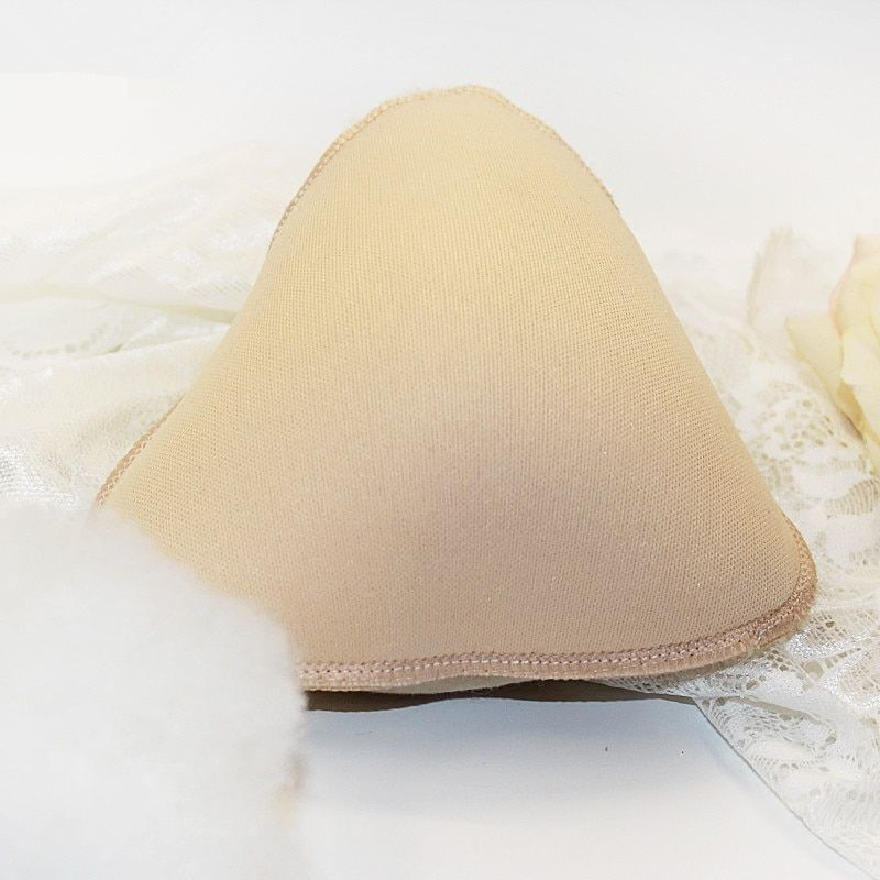 Newest Design Triangle Shape Super Light Fake Prosthesis Cotton Breasts Forms Artificial for Mastectomy Women Cancer Dissection