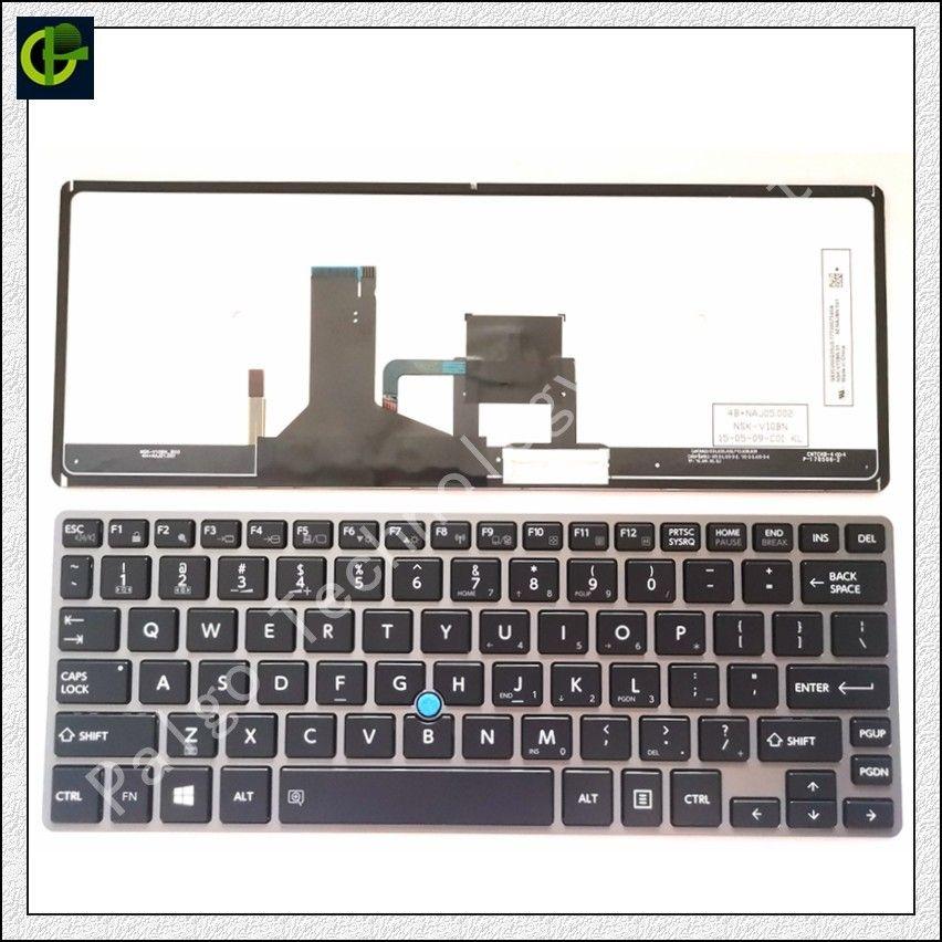 Backlit English keyboard for Toshiba Portege Satellite Z30-A Z30t-A Z30T-A1310 Z30-A1302 P000586340 laptop US standard