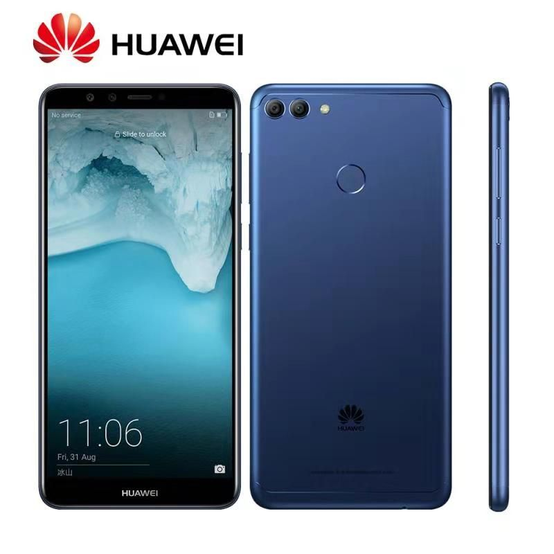 Global Rom Huawei Enjoy 8 Plus Y9 2018 4000mAh Fingerprint 4 Cameras Kirin 659 Octa Core OTA Update 5.93