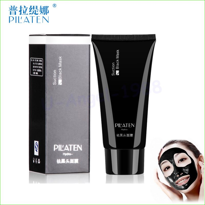 1pcs Original PILATEN Face Care Suction Black Mask Facial Mask Nose Blackhead Remover Peeling Peel Off Black Head Acne Treatment