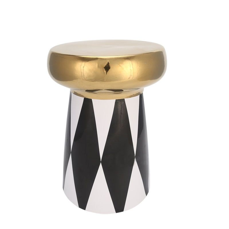 New Ceramic Stool Living Room Hotel Shopping Mall Leisure Chair Stool
