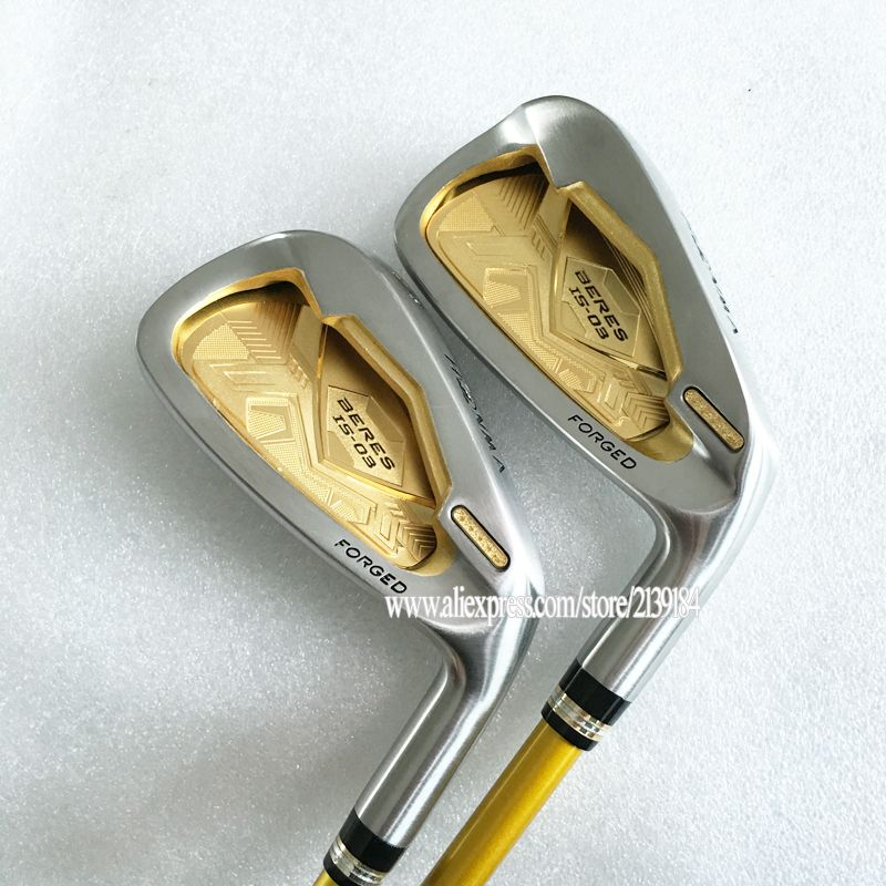 Cooyute New Golf Clubs HONMA irons S-03 4star Golf irons set 4-11.Aw.Sw Clubs irons Graphite Golf shaft R Flex Free shipping