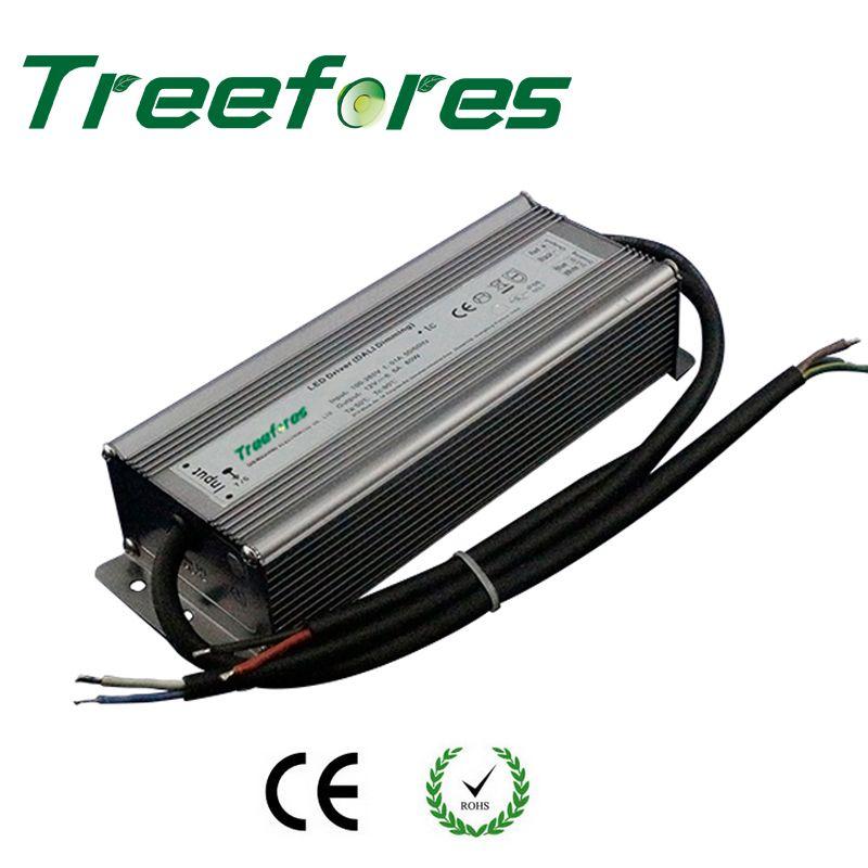 IP66 Triac 80W 100W 120W 150W 200W 300W 360W Dimmable LED Driver AC to DC 12V 24V Power Supply Dimming Lighting Transformer