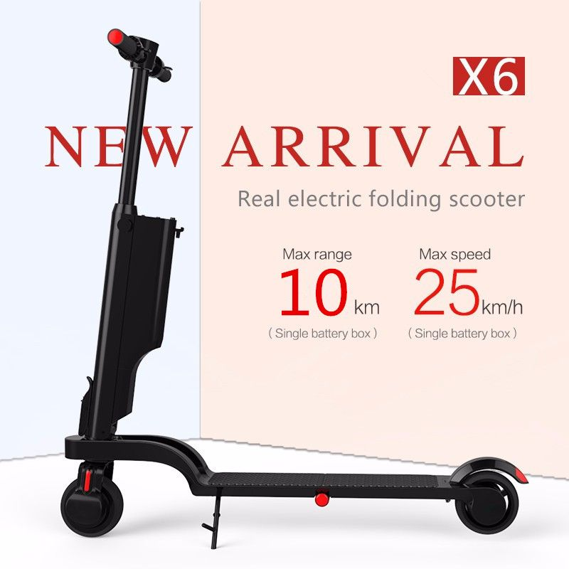 New Arrival 5.5 Inch Folding Electric Scooter Skateboard Folding Backpack E-scooter with Mobile APP Bluetooth Speaker