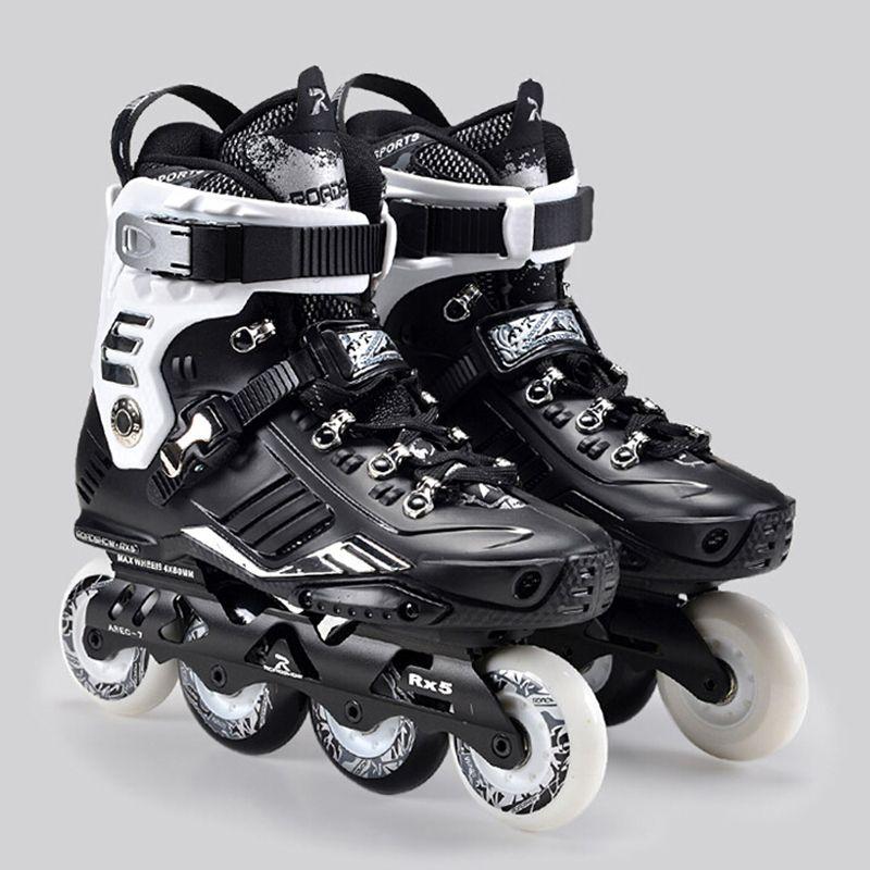 Professionelle Frauen männer Inline Skate Schuhe Outdoor Freestyle Rollschuhlaufen Stiefel Slalom FSK Patines Sport Turnschuhe