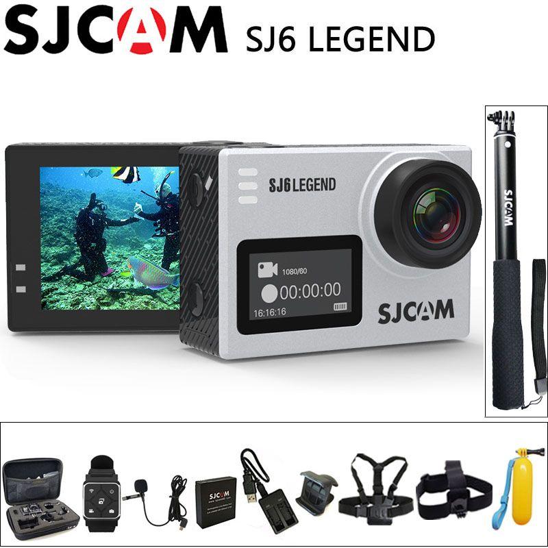 100% Original SJCAM SJ6 Legend Sport Action Camera 4K Wifi 30M Waterproof Ultra HD 2
