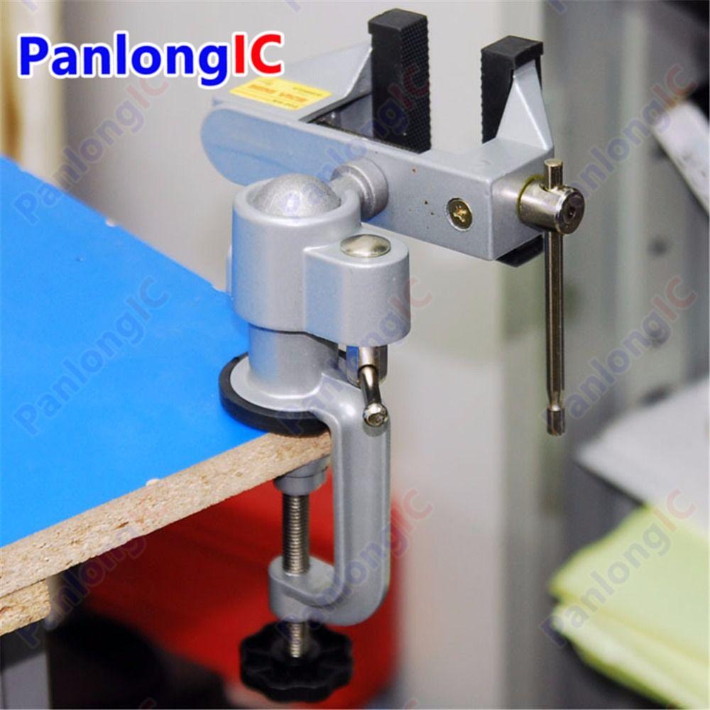 Wholesale!!! Table Vise Bench Vice Alloy 360 Degree Rotating Universal Clamp Units Vise Mini Precise Vise