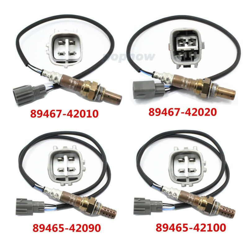 New 4 Set Ratio Oxygen Sensor O2 Sensor 89467-42010/89467-4202/89465-42090/89465-42100 For Toyota RAV4 2001-2003 #7342(CQ)