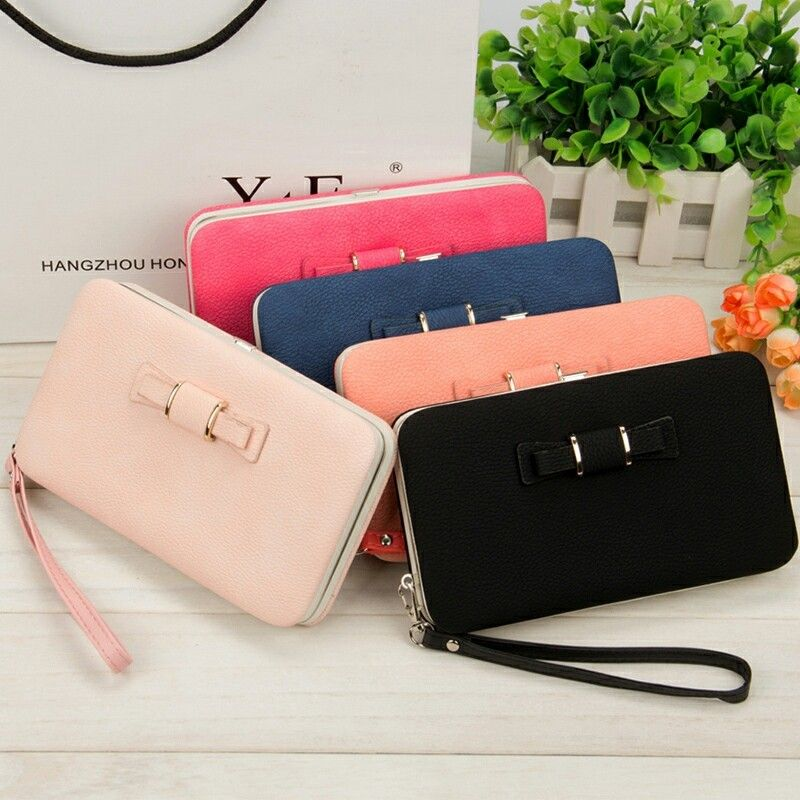 2019 Women Wallets Purses Wallet Brand Credit Card Holder Clutch Coin Purse Cellphone Pocket Gifts For Women Money Bag