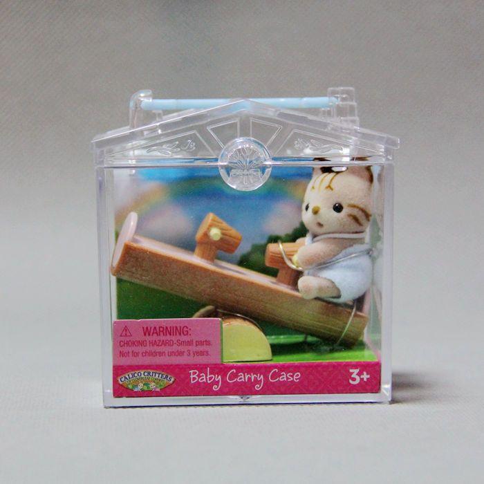 Sylvanian Семья Cat ребенок играет Alice доска с ребенком чехол Мини Рисунок Аниме мультфильм Игрушечные лошадки детский подарок животных кукла