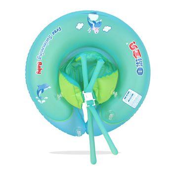 Vente chaude Amovible siège pour un nouveau bébé anneau de bain avec gonflable piscine accessoires Unisexe Mignon Bébé anneau flotteur