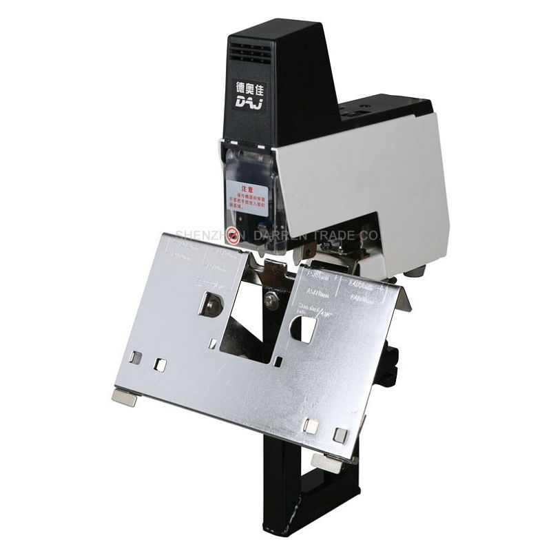 Electric Stapler Binder machine book Rapid stapler machine 2-50 sheets with pedal 100MM 220V