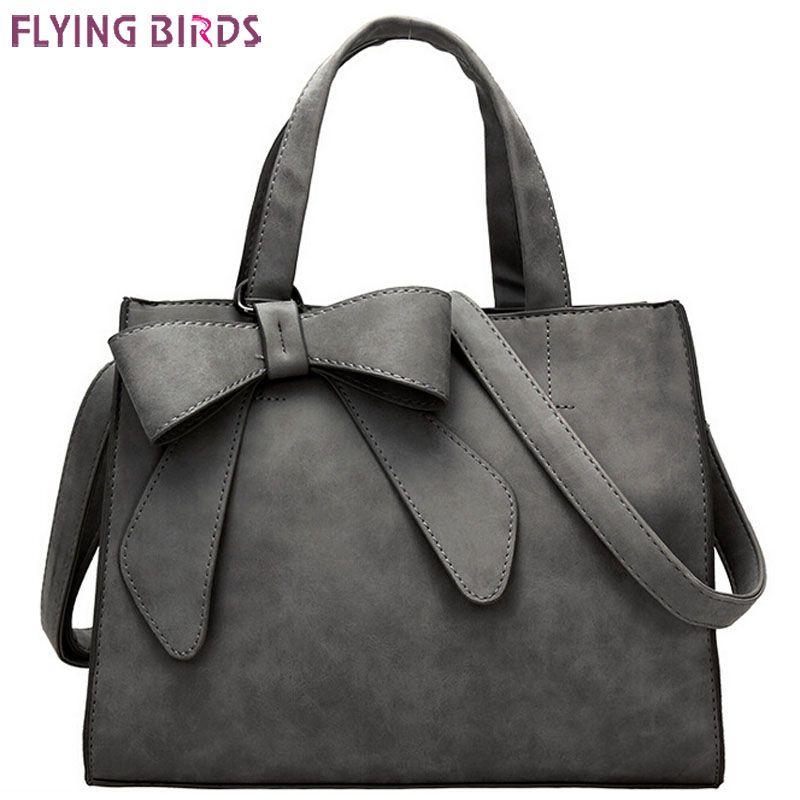 FLYING BIRDS! femmes en cuir sacs à main femmes sacs messenger sacs à bandoulière sac bolsas de haute qualité sac à main femelle poche LS4934