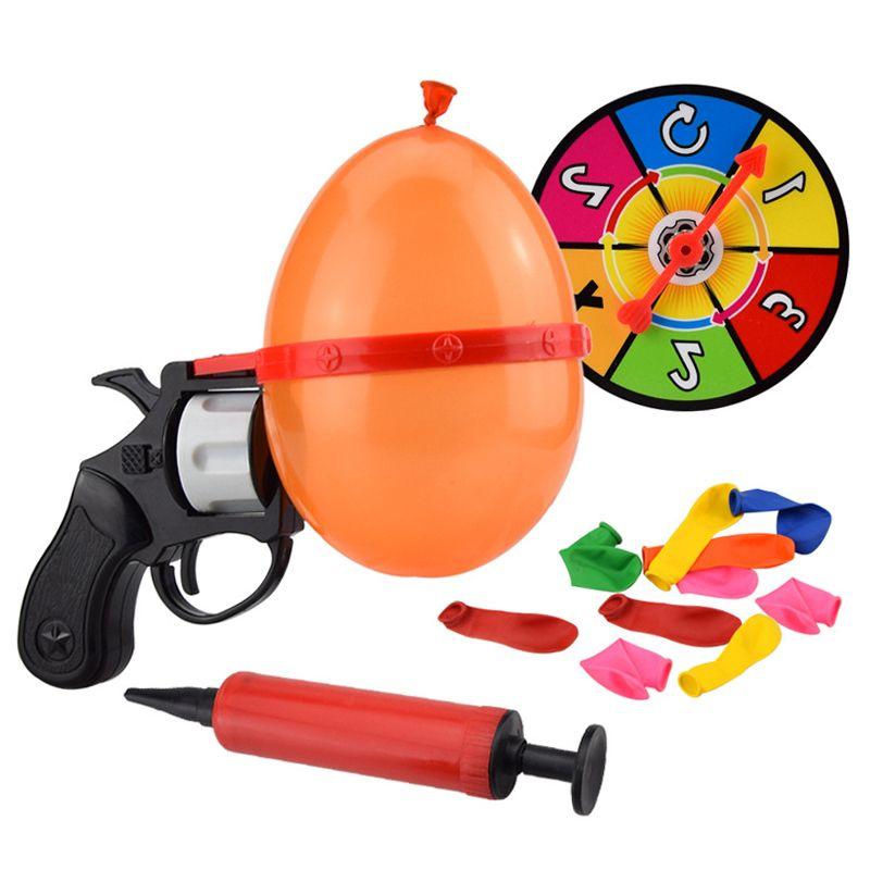 Russe Roulette partie ballon pistolet modèle créatif adulte jouets famille Interaction jeu chanceux Roulette délicat amusement cadeaux interactif