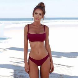 Femmes Bandeau Maillot de Bain Femmes 2018 D'été Beachwear Épaule Maillots De Bain Maillots de Bain Maillot de Bain 5.14