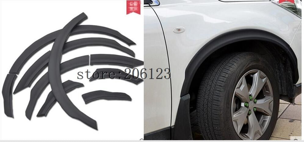 Auto Wheel arch trim For Subaru forester 2013-2017 ,10PCS