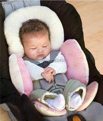 J.g Chen bebé multiusos cesta cómodo cojín de doble uso bebé ajustable almohada coche asiento de seguridad bebe conforto