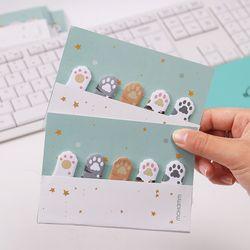 1 Pc Cute Kartun 5 Warna Mini Hewan Kucing Memo Pad Lengket Catatan Memo Notebook Alat Tulis Papelaria Escolar Sekolah perlengkapan