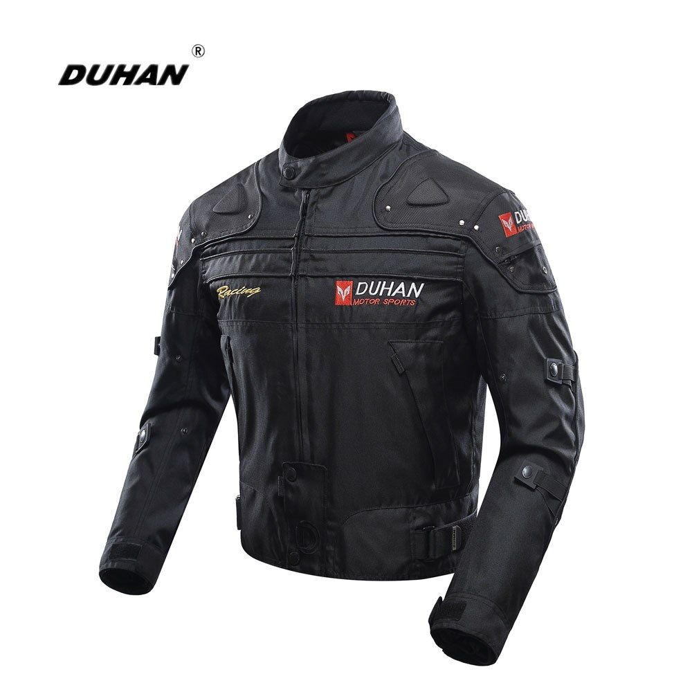 DUHAN Motorcycle Jacket Motorbike Riding Jacket Full Body Protective Gear Armor Windproof Motorcycle Autumn Winter Moto Clothing
