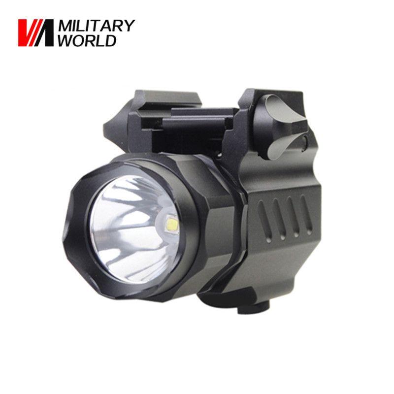 G01 XP-G R5 LED 2 Mode 320 Lumens 3.0V 15270/CR2 Flashlight Outdoor Tactical Gun Torch Light For Airsoft Waterproof Lamp Tool