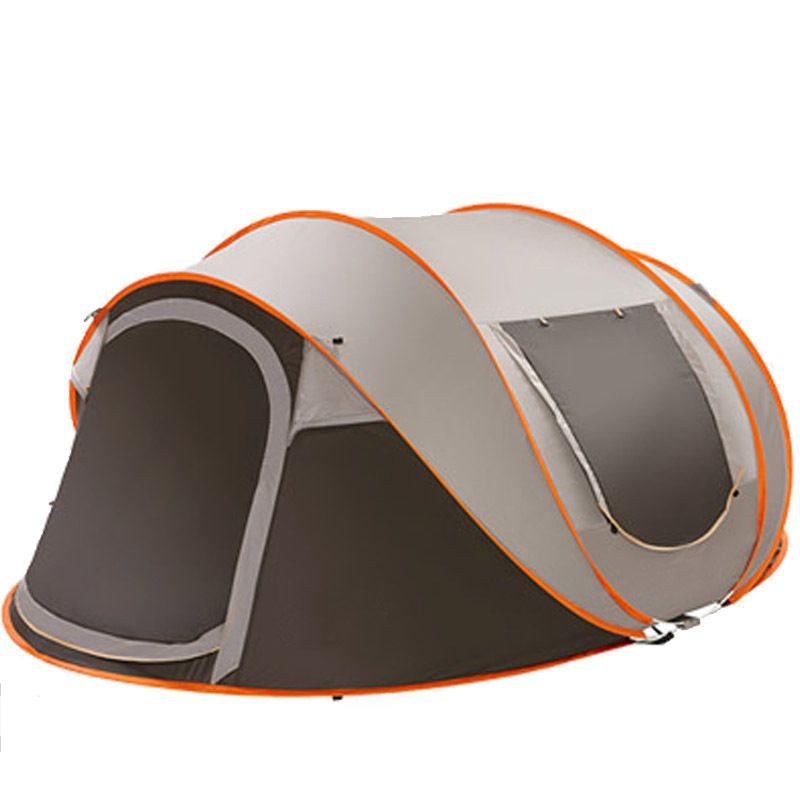 5-8 personne 280*200*120cm ultra-léger grande tente de Camping imperméable coupe-vent automatique tente une seconde ouvert voyage randonnée tentes