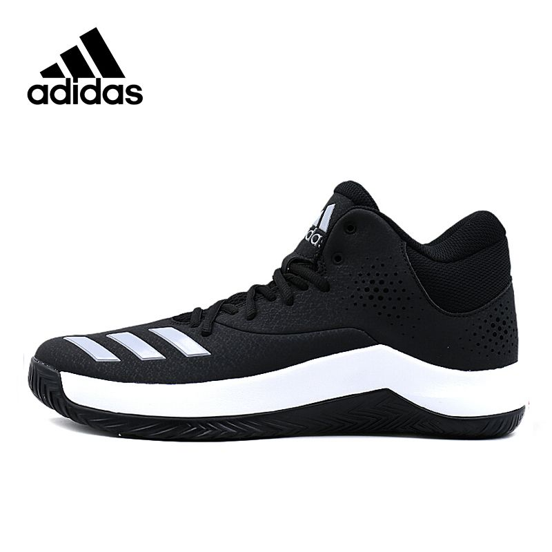 Original New Arrival Official Adidas Court Fury Men's High Top Basketball Shoes Sneakers