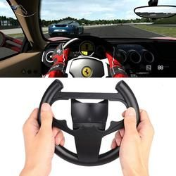 Steering Wheel Game Remote Sets Circle Controller For PS4 Racing Driving Black