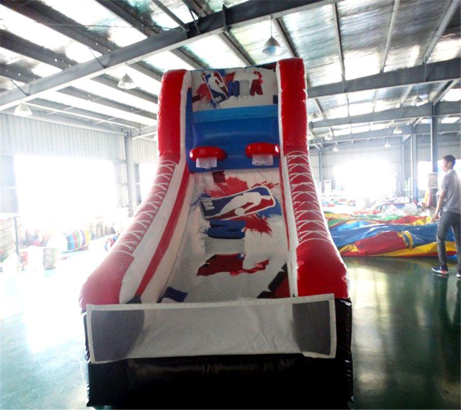 Aufblasbare basketball aufblasbare sport spiel PVC für indoor und outdoor