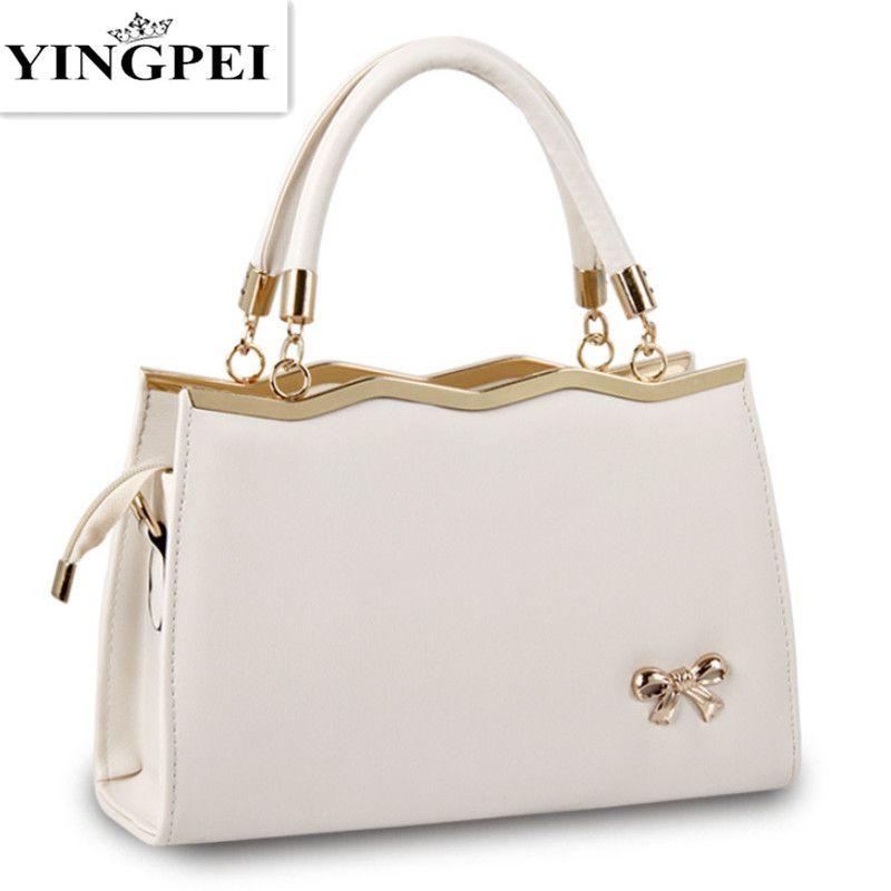 YINGPEI sacs pour femmes décontracté Fourre-Tout Femmes PU sacs à main en cuir De Mode sacs de postier pour femmes Sacs Célèbre Marques Designer