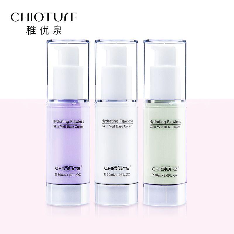 CHIOTURE Marque Maquillage Visage Amorce De Base Liquide Maquiagem Iluminador Maquillaje Anti Cernes Maquillage Égayer Hydratant