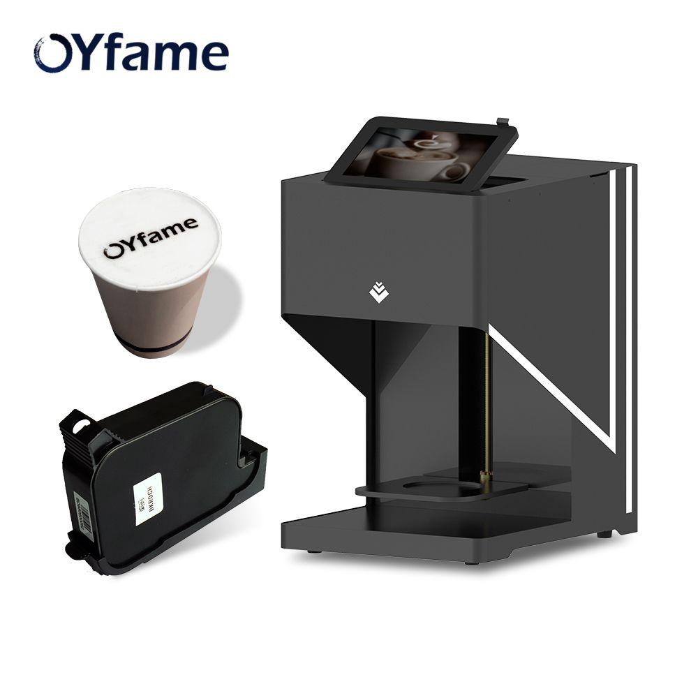 OYfame Kunst Kaffee Drucker Latte Kaffee drucker automatische drucker Art Getränke Lebensmittel selfie kaffee mit WIFI verbindung druck