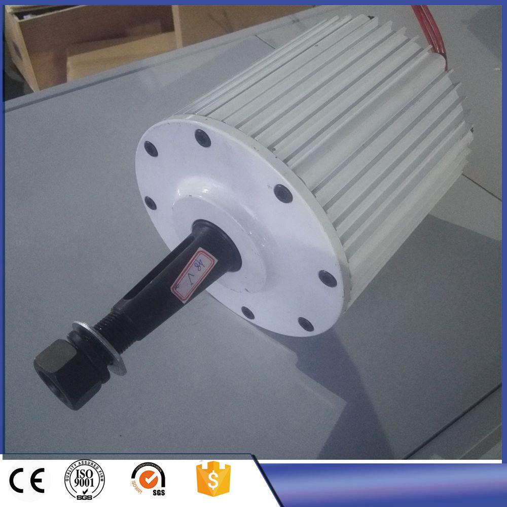 2KW Niedrigen DREHZAHLEN AC 220 V 380 V Drei Phase Permanentmagnet-generator für den heimgebrauch