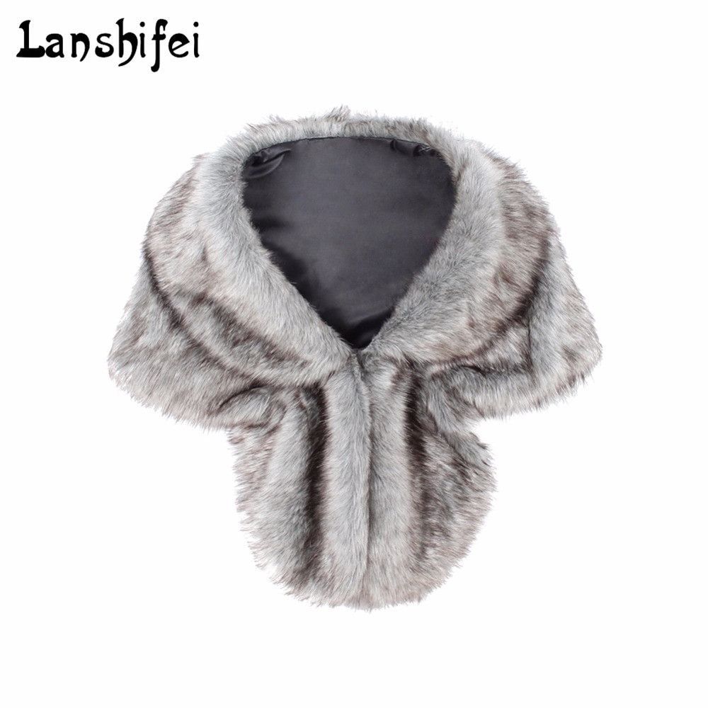Chic Soft High quality Faux Fur Sleeveless Vest Amice Luxury Warm Turn-down Collar Women Winter Fashion furs Women Coats Jacket