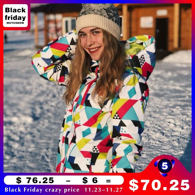 Winter Ski suit Women Brands 2018 High Quality Ski Jacket And <font><b>Pants</b></font> Snow Warm Waterproof Windproof Skiing And Snowboarding Suits