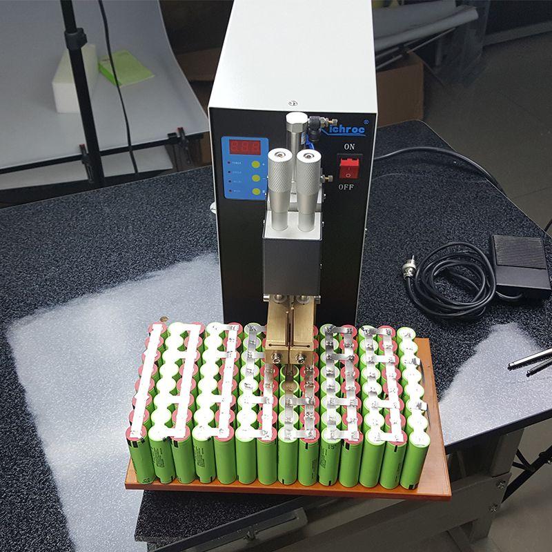 3KW Pneumatic Pulse Battery Spot Welder Battery Pack Spot Welding
