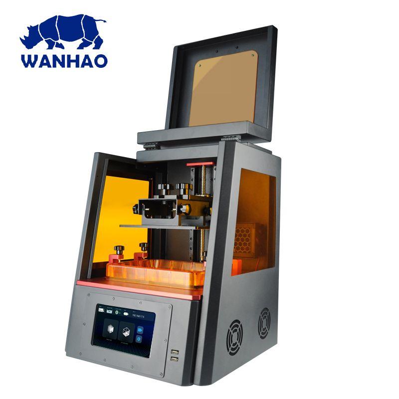 2019 neueste WANHAO D8 Harz Schmuck Dental 3D Drucker WANHAO duplizierer 8 dlp sla LCD 3d drucker maschine kostenloser versand mit wifi