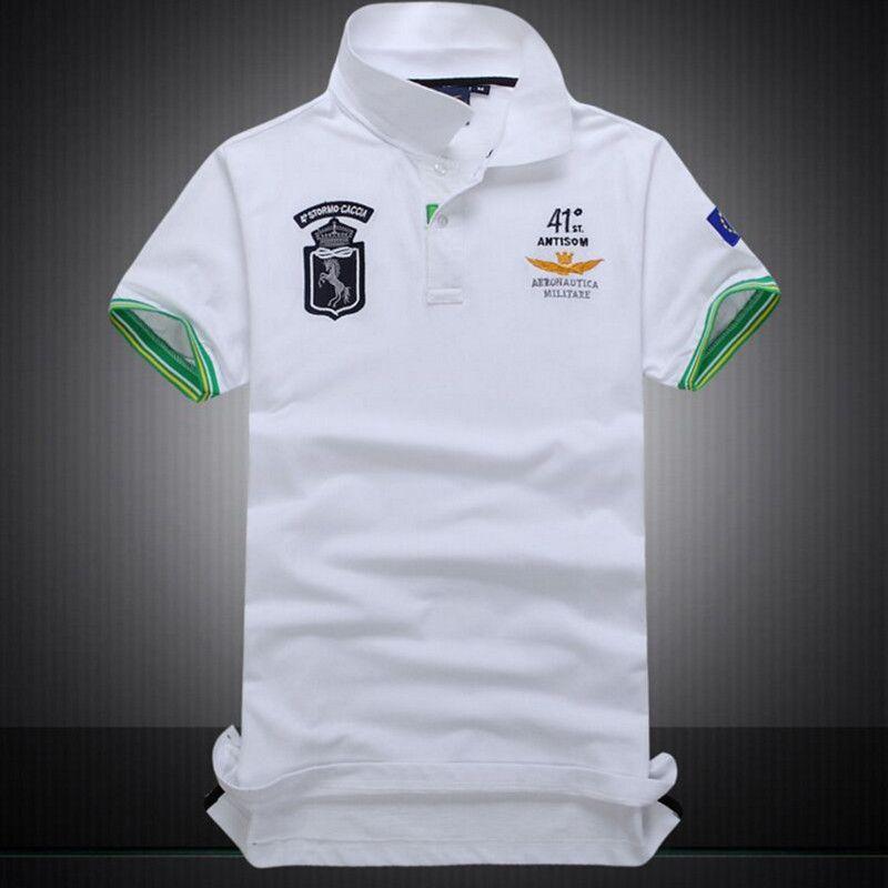 2017 heißer Verkauf Hemd Luftwaffe Aeronautica Militare POLO Shirt Männer Kurzarm herrenhemden Marke Freizeit Shirts