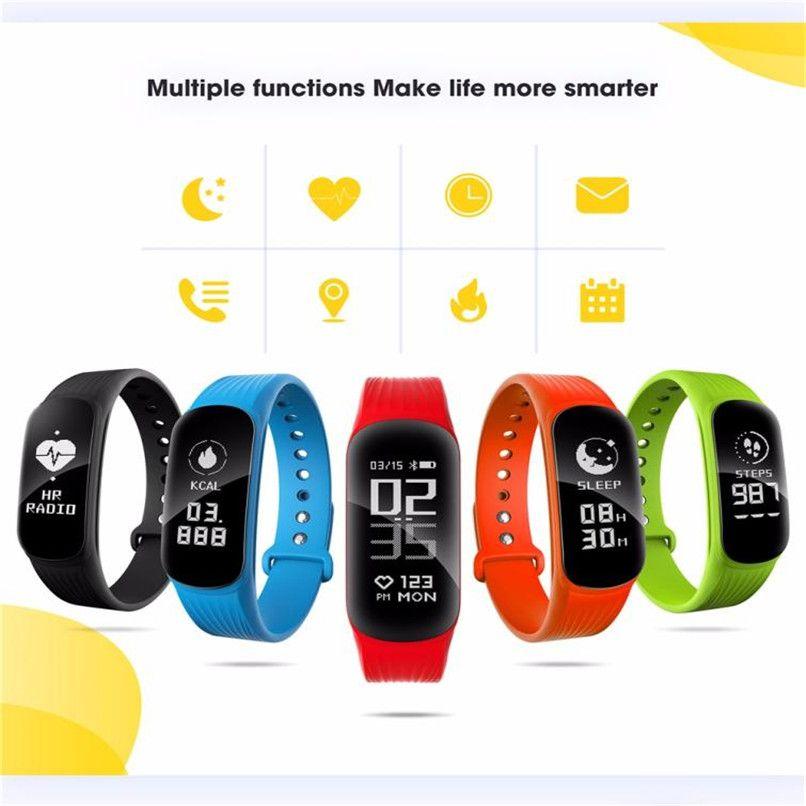 New Arrival WP112 Smart Bracelet Heart Rate Monitor Smart Wristband Fitness Tracker Wholesale 30RK23