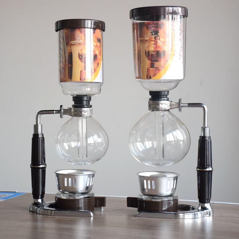 Haute Qualité 5 tasses Japon style Siphon cafetière Siphon maker Thé Siphon pot Tca3 Tca5 500 ML